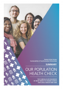 Population Health Check published across the STP