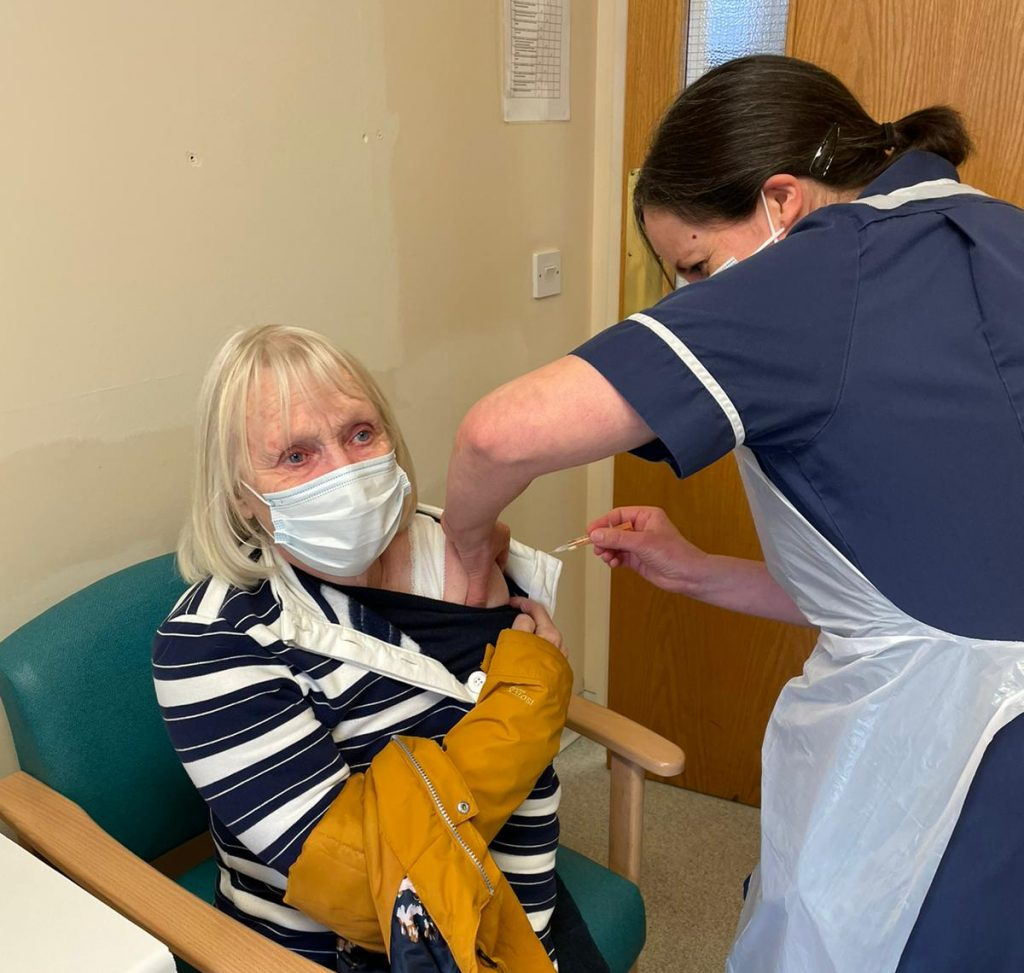Vaccination service continues at Etchingham Village Hall