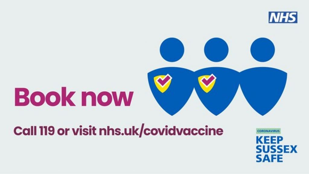 COVID-19 vaccinations: book now
