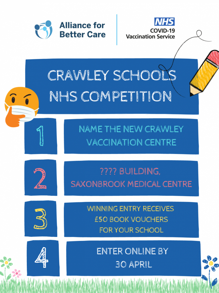 Crawley schools NHS competition